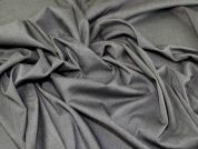 Plain Poly Viscose Suiting Dress Fabric  Grey