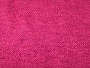 Italian Virgin Wool Coating Dress Fabric  Cerise Pink