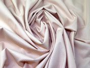 Jacquard Stretch Cotton Fabric  Beige