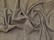 Wool Blend Suiting Fabric  Brown