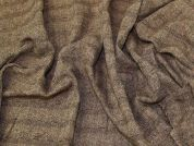 Wool Blend Coating Fabric  Brown