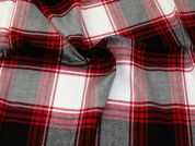 Brushed Cotton Fabric  Red