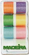 Madeira Machine Embroidery Thread Gift Box  Metallic Opal Assortment