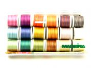 Madeira Cotona No.50 Multicolour Embroidery Thread Box  Assorted Colours