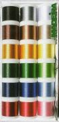 Madeira Rayon No 40 Machine Embroidery Thread Gift Box  Assorted Colours