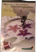 Madeira Avalon Wash Away Machine Embroidery Stabilizer  White