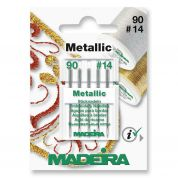 Madeira Metallic Embroidery Machine Needles