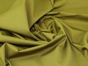 Lady McElroy Supreme Cotton Twill Fabric  Moss Green