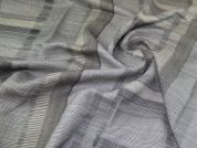 Lady McElroy Chenille Style Fabric  Grey