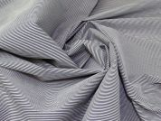 Lady McElroy Stretch Bengaline Suiting Fabric  Indigo