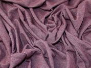 Lady McElroy Fleece Back Sweatshirting Fabric  Plum