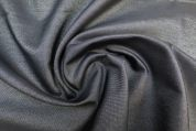 Lady McElroy Reversible Two Tone Denim Fabric  Charcoal