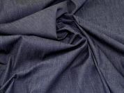 Lady McElroy Stretch Barkweave Denim Fabric  Indigo