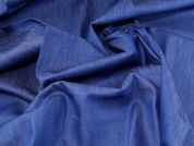 Lady McElroy Stretch Denim Fabric  Royal Blue