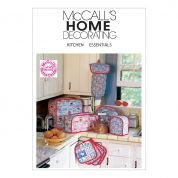 McCalls Homeware Easy Sewing Pattern 2018 Kitchen Essentials
