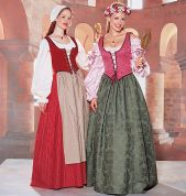 McCalls Cosplay Ladies Sewing Pattern 2039 Historical Costume