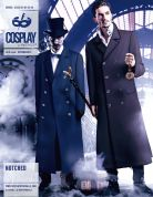 McCalls Cosplay Mens Sewing Pattern 2042 Notched Lined Coats