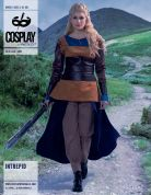 McCalls Cosplay Ladies Sewing Pattern 2051 Intrepid Top, Pants, Skirt, Belt & Gauntlets