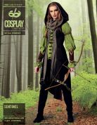 McCalls Cosplay Ladies Sewing Pattern 2080 Sentinel Tunic, Vest, Hood & Bracers