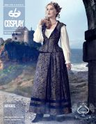 McCalls Cosplay Ladies Sewing Pattern 2089 Abigail Vest, Skirt & Petticoat