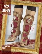 McCalls Cosplay Ladies Easy Sewing Pattern 2097 Foot Fetish Gilded Boot Covers