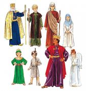 McCalls Childrens Easy Sewing Pattern 2340 Religious Christmas Costumes