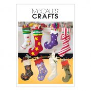 McCalls Crafts Easy Sewing Pattern 2991 Christmas Stockings