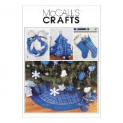 McCalls Crafts Easy Sewing Pattern 3777 Christmas Decorations