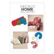McCalls Homeware Easy Sewing Pattern 4123 Comfort Zone Pillows & Bolsters
