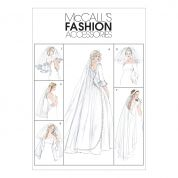 McCalls Ladies Sewing Pattern 4126 Wedding Bridal Veils