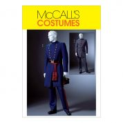 McCalls Mens Sewing Pattern 4745 Civil War Costumes