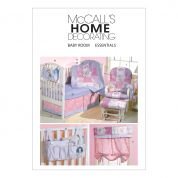 McCalls Baby Sewing Pattern 4855 Bedroom Essentials
