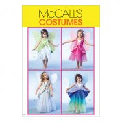 McCalls Childrens Sewing Pattern 4887 -Fairy Costumes with Wings