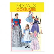 McCalls Girls Sewing Pattern 4948 Fairytale Costumes