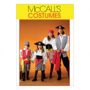 McCalls Family Unisex Sewing Pattern 4952 Pirate Costumes