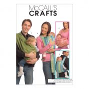 McCalls Baby Easy Sewing Pattern 5678 Baby Carriers