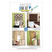 McCalls Homeware Sewing Pattern 5828 Window Treatments Curtains