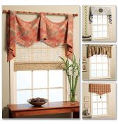 McCalls Homeware Sewing Pattern 5872 Window Swags & Valances