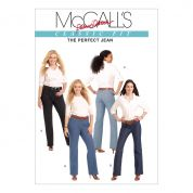McCalls Ladies Sewing Pattern 5894 Jeans Pants Trousers