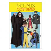 McCalls Childrens Sewing Pattern 5952 Super Hero Costumes
