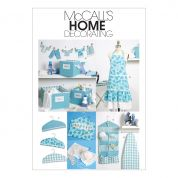 McCalls Homeware Sewing Pattern 6051 Around the Home Accessories