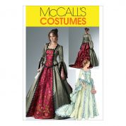 McCalls Ladies Sewing Pattern 6097 Historical Victorian Costume
