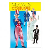 McCalls Family Unisex Easy Sewing Pattern 6143 Fancy Dress Costumes