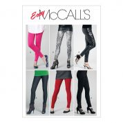 McCalls Ladies Easy Sewing Pattern 6173 Pants & Leggings