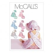 McCalls Toddlers Sewing Pattern 6303 Dresses, Panties & Hats