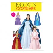 McCalls Girls Easy Sewing Pattern 6420 Princess Costumes