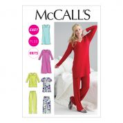 McCalls Ladies Easy Sewing Pattern 6474 Pyjamas & Nighties