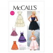 McCalls Ladies Sewing Pattern 6646 Special Occasion Dresses