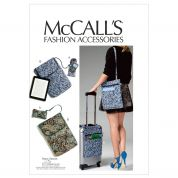 McCalls Accessories Easy Sewing Pattern 6668 Cell Phone/Computer Sleeves & Bags