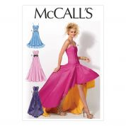 McCalls Ladies Sewing Pattern 6701 Special Occasion Dresses